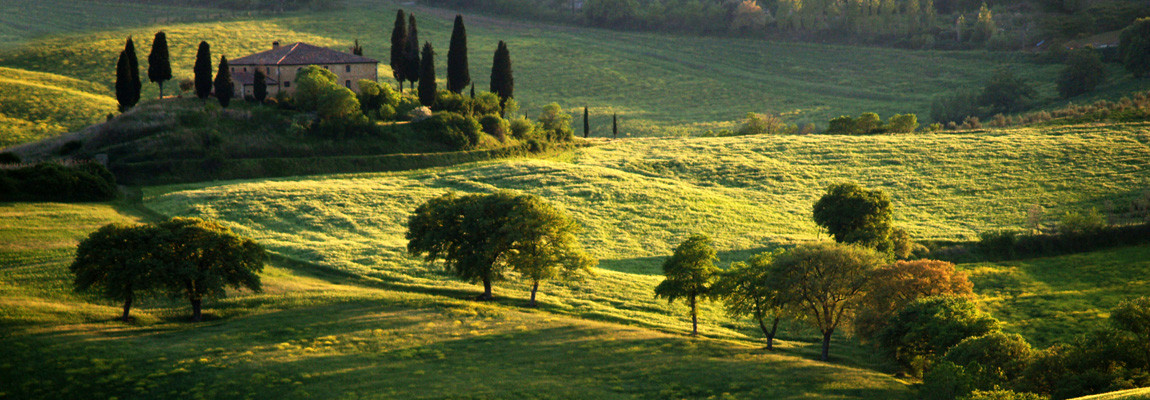 A farm in Valdorcia, Tuscany